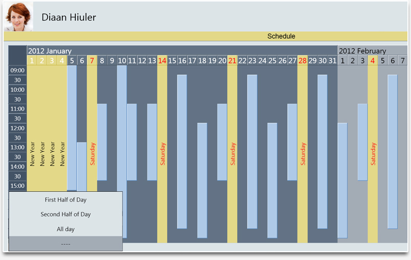 Creating a Timetable