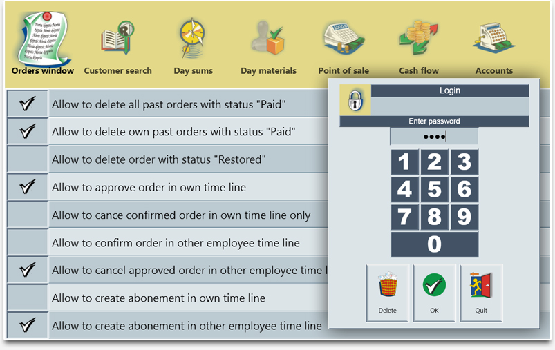 Duties and Rights of the Employees